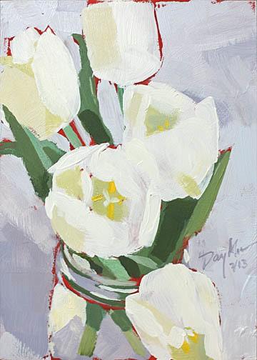 005 white tulips