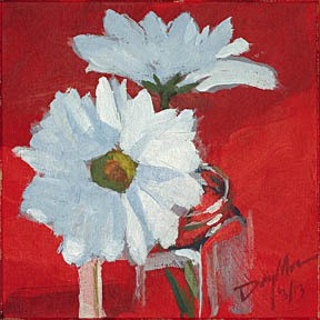 027 red daisies
